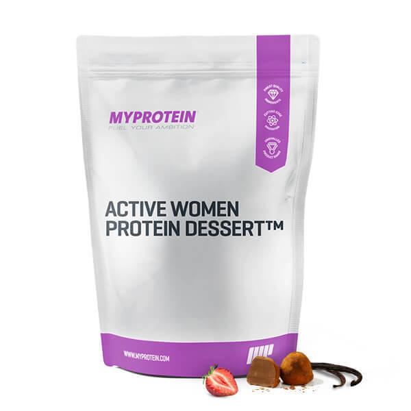 Postre de Proteinas Active Women� - 500g - Bolsa - Banana Split