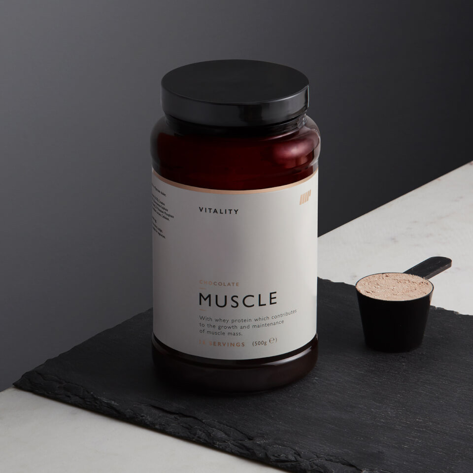 Vitality Musculos - 500g - Bote - Vainilla