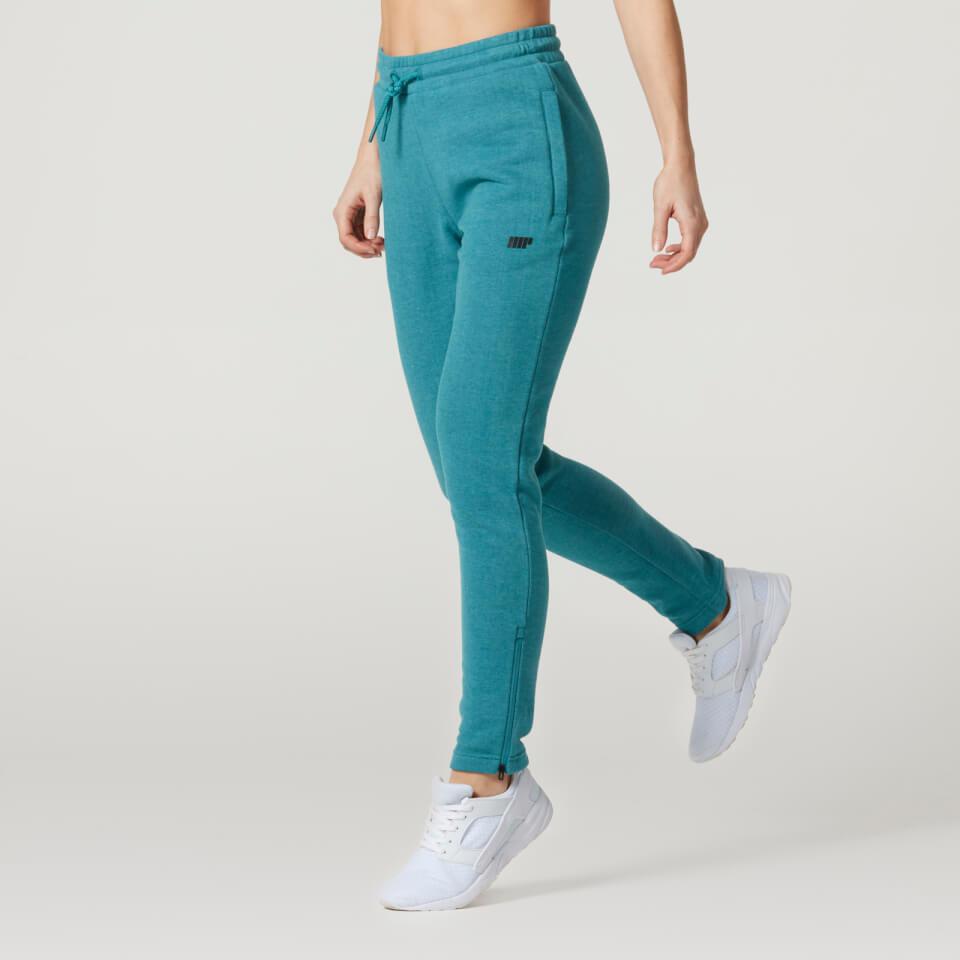 Pantalon de Ch�ndal Tru-Fit para Mujer de Myprotein - M - Azul Cerceta
