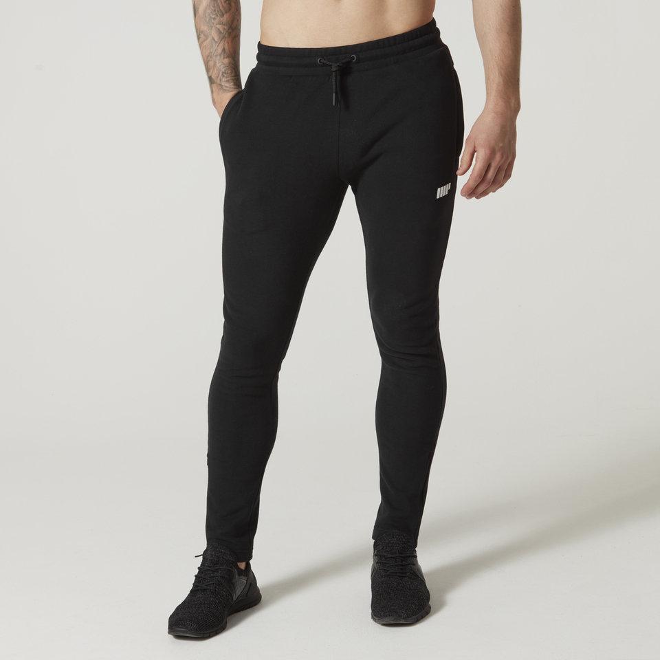 Pantalones Jogging Tru-Fit Slim Fit de Myprotein para Hombre - XL - Negro