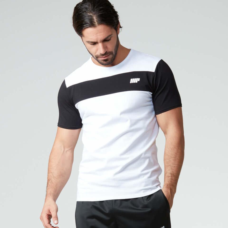 Camiseta de Rayas - XXL - Blanco