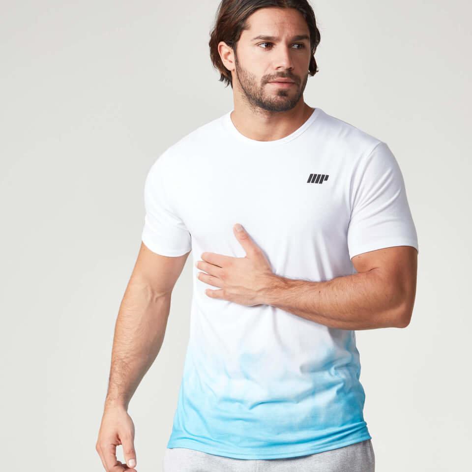 Camiseta Degradada - XL - Azul