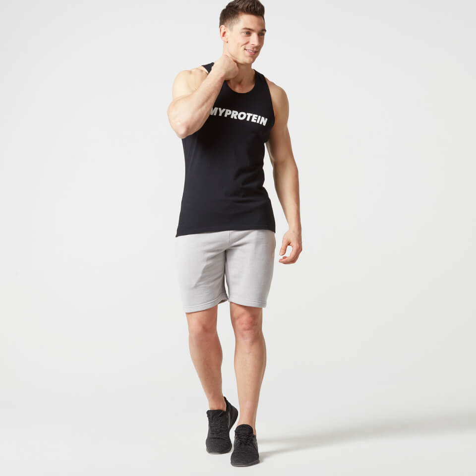 Camiseta de Tirantes con Logo - M - Negro