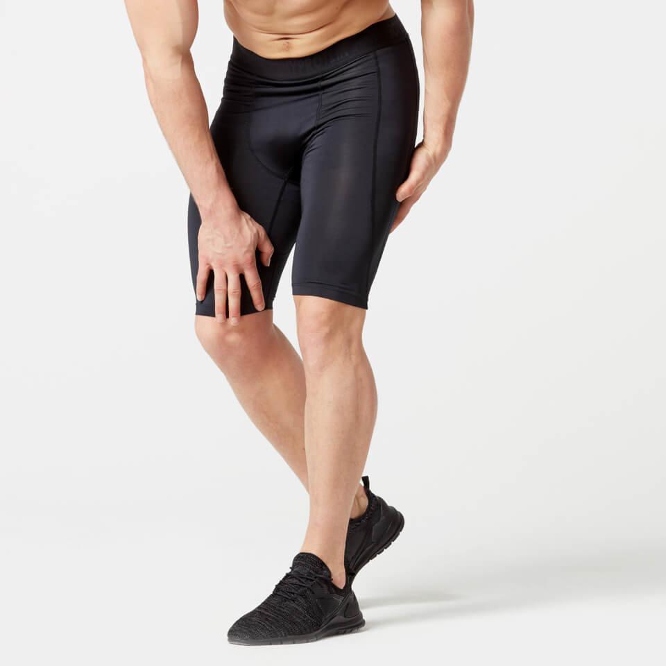 Pantalon Corto de Compresion - L - Negro