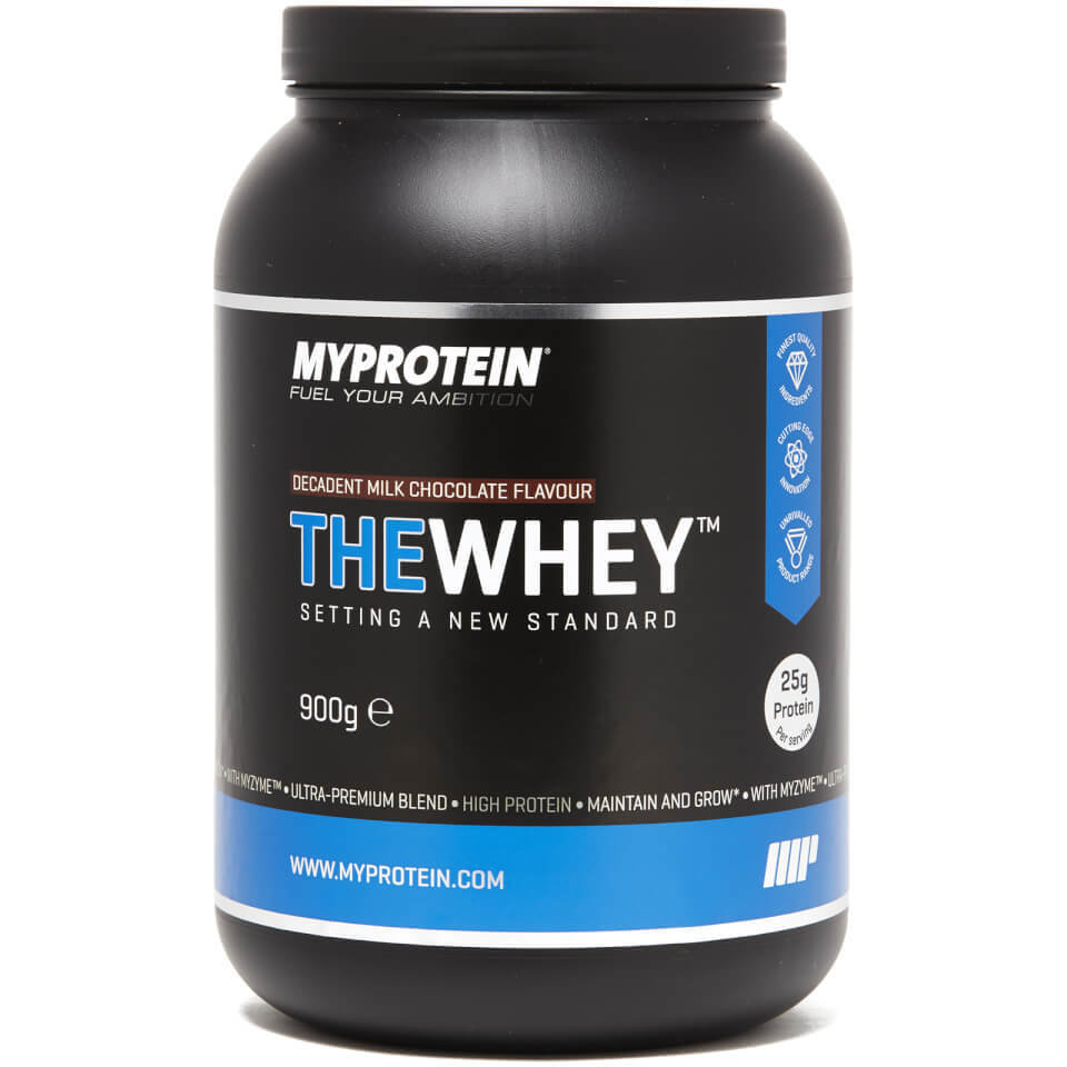 THEWHEY - 30 Servings - 900g - Bote - Leche con Chocolate