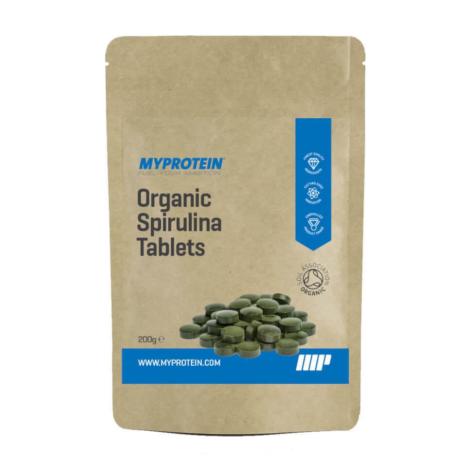 Espirulina Org�nica en Comprimidos - 200g - Bolsa - Sin sabor