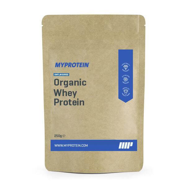 Proteina Whey Org�nica - 250g - Bolsa - Strawberry Flavour