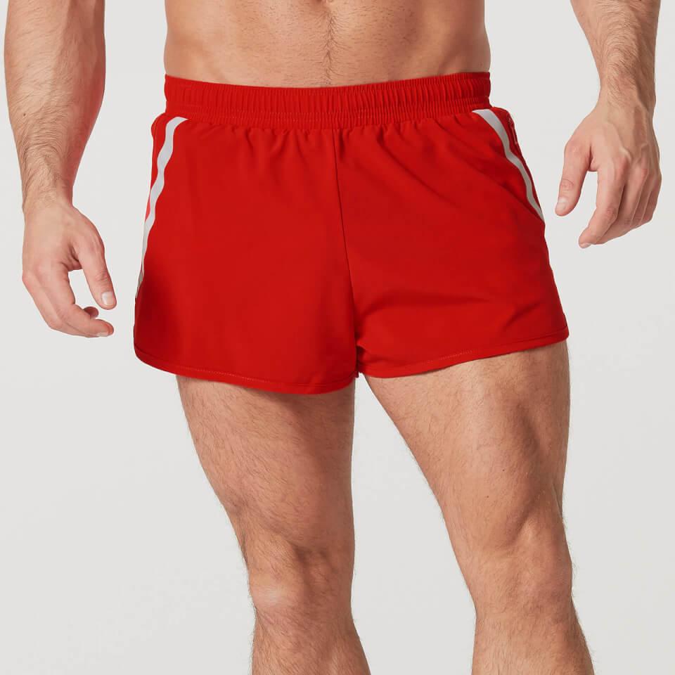 Pantalon Corto Fast-Track - L - Rojo