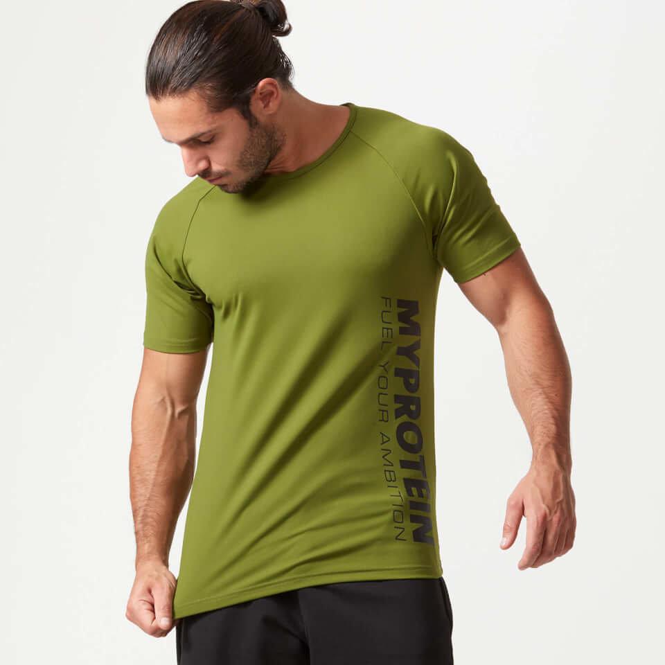 Camiseta Tecnica Bold - S - Caqui
