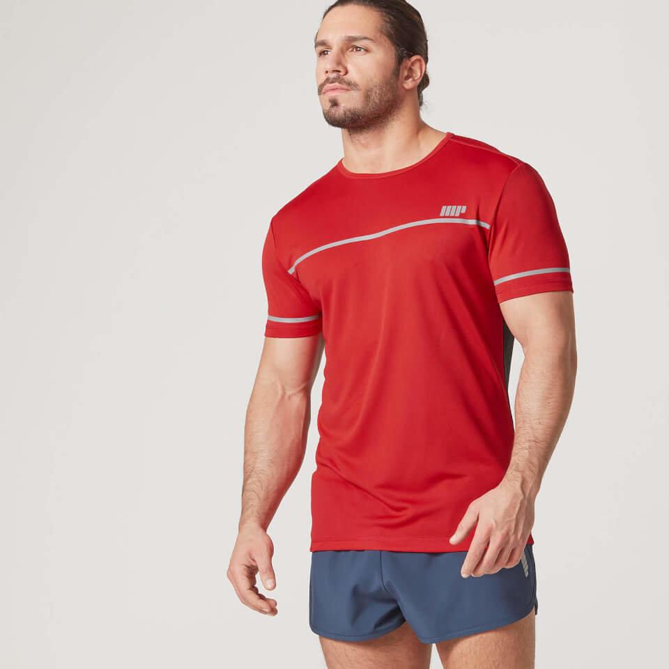 Camiseta Fast-Track - L - Rojo
