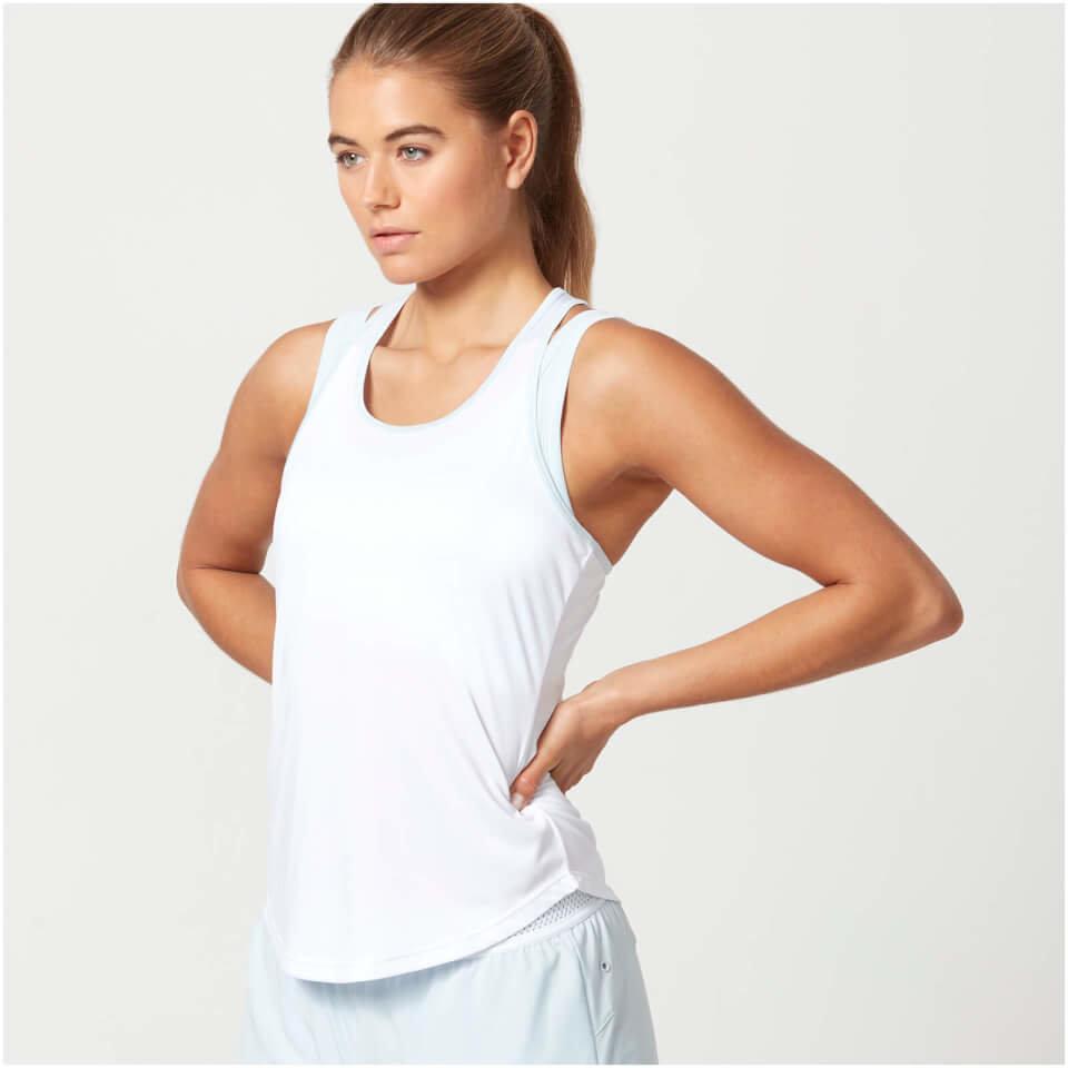 Camiseta de Tirantes Air - XS - Blanco