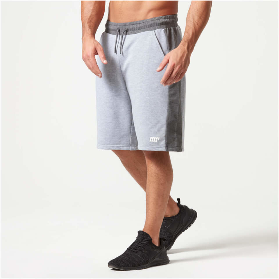 Pantalon Corto Superlite - S - Charcoal Marl