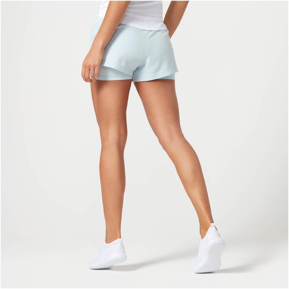 Pantalon Corto Air Dual - L - Negro