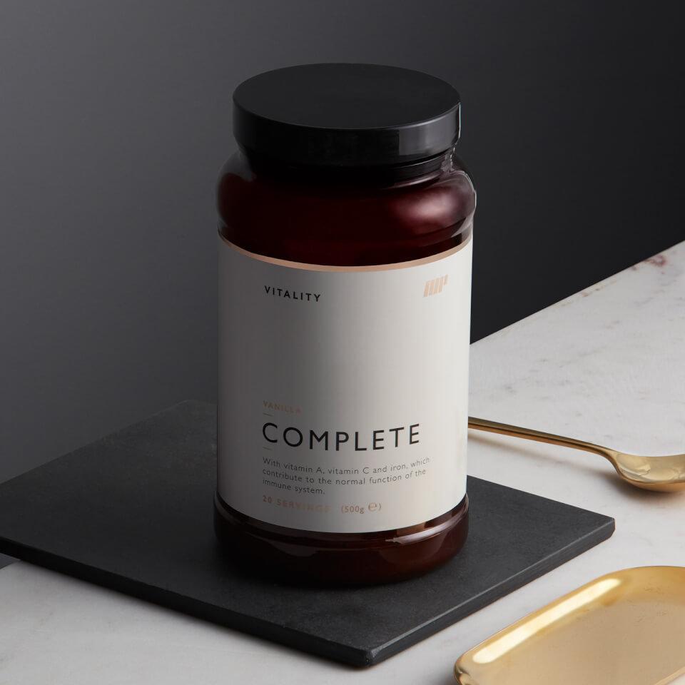Vitality Completo - 500g - Bote - Vainilla