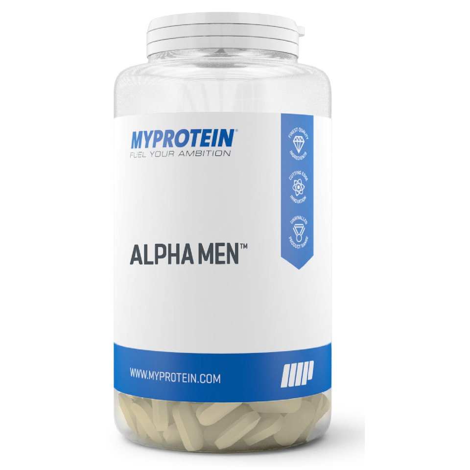 Alpha Men - 240Tabletas - Tarro - Sin sabor