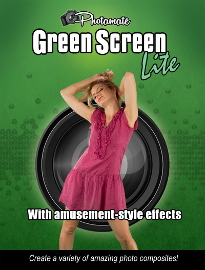 Photamate Lite 2.1 Green Screen Photo Software PML50