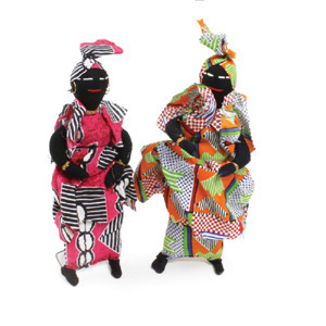 Small Senegalese Doll
