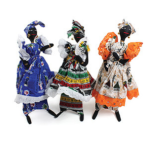 Large Senegal Doll