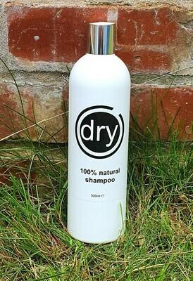 dry - 100% natural shampoo 500ml