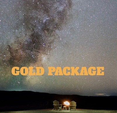 Night Under the Stars - ​GOLD PACKAGE Sat-Mon