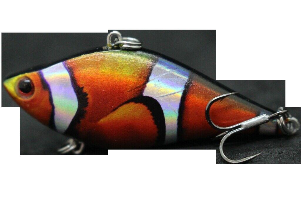 Lipless Clownfish Sinking Crankbait (1/2 oz)