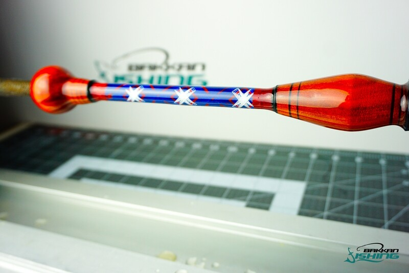 American Flag Custom Rod