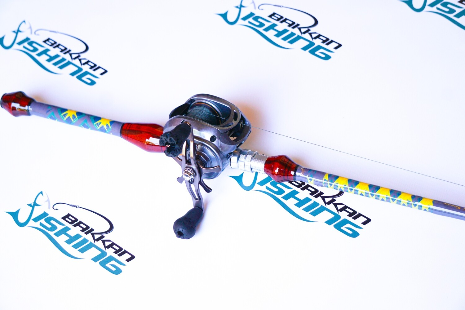 """7'0""""   15-30 lb.   3/4 - 2 1/2 oz.   Mod-Fast Action   Extra Heavy Power   3 Piece"""