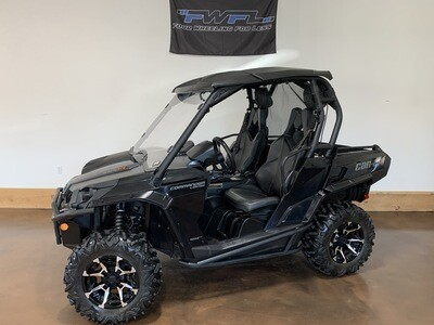 2018 Can-Am Commander 1000 Limited - Great Condition!