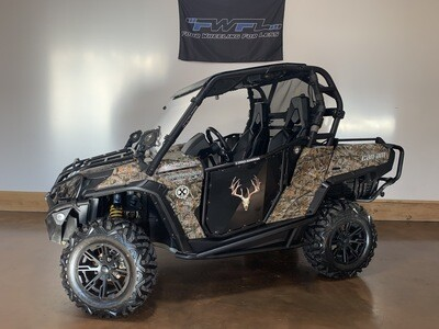 2012 Can-Am Commander 1000 XT - As low as $215/Month!
