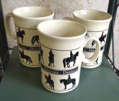 Set of 4 Dressage Mugs