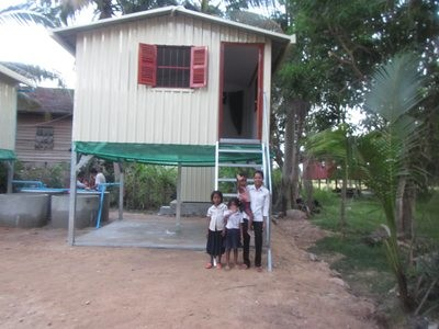 Basic House for a Family including sanitation