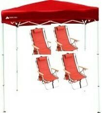 PKG:  4 Pack w/ 4x6 Canopy - Basic