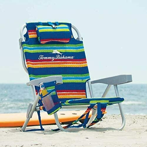 #Chair, 5 Position | Lay Flat | Cooler + Pouch
