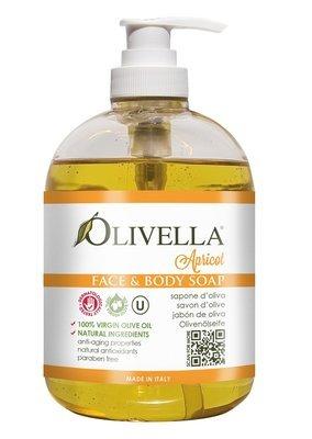 Olivella Vloeibare zeep Abrikoos 500 ml
