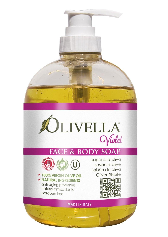 Olivella Vloeibare zeep Viooltje 500 ml