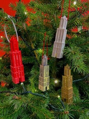 Kerstbal Domtoren Utrecht - kerstboomhanger