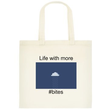 Life with more byte Tote Bag