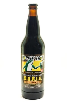 Hoppin' Frog Extended Barrel Aged BORIS The Crusher