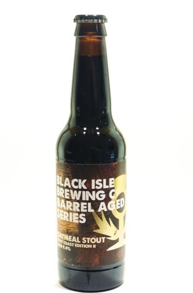 Black Isle Oatmeal Stout West Coast Edition II 2018