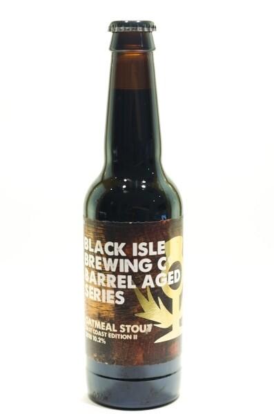 Black Isle Oatmeal Stout East Coast Edition II 2018