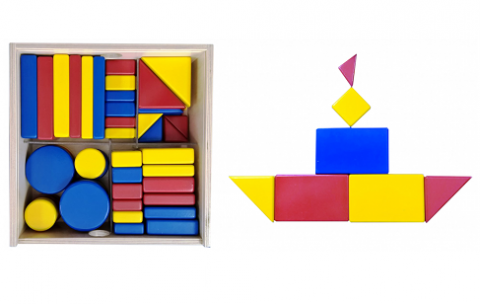 Блоки Дьенеша для формирования STEAM-компетенций дошкольников (1) (видео)