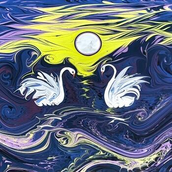Образовательные возможности техники рисования на воде эбру