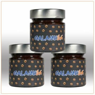 3 Creme spalmabili con olio extra vergine d'oliva, Fondente 230g