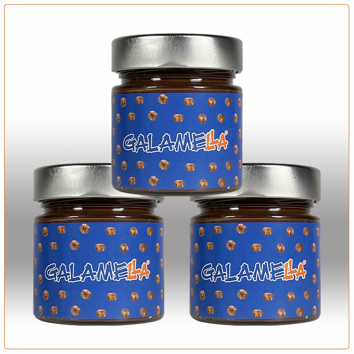 3 Creme spalmabili con olio extra vergine d'oliva, Nocciola e Cacao (CLASSICA) 230g
