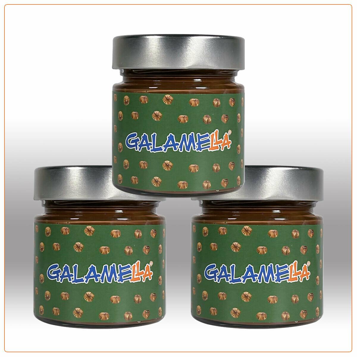 3 Creme spalmabili con olio extra vergine d'oliva. Nocciola e Cacao senza Latte (VEGANA) 230g