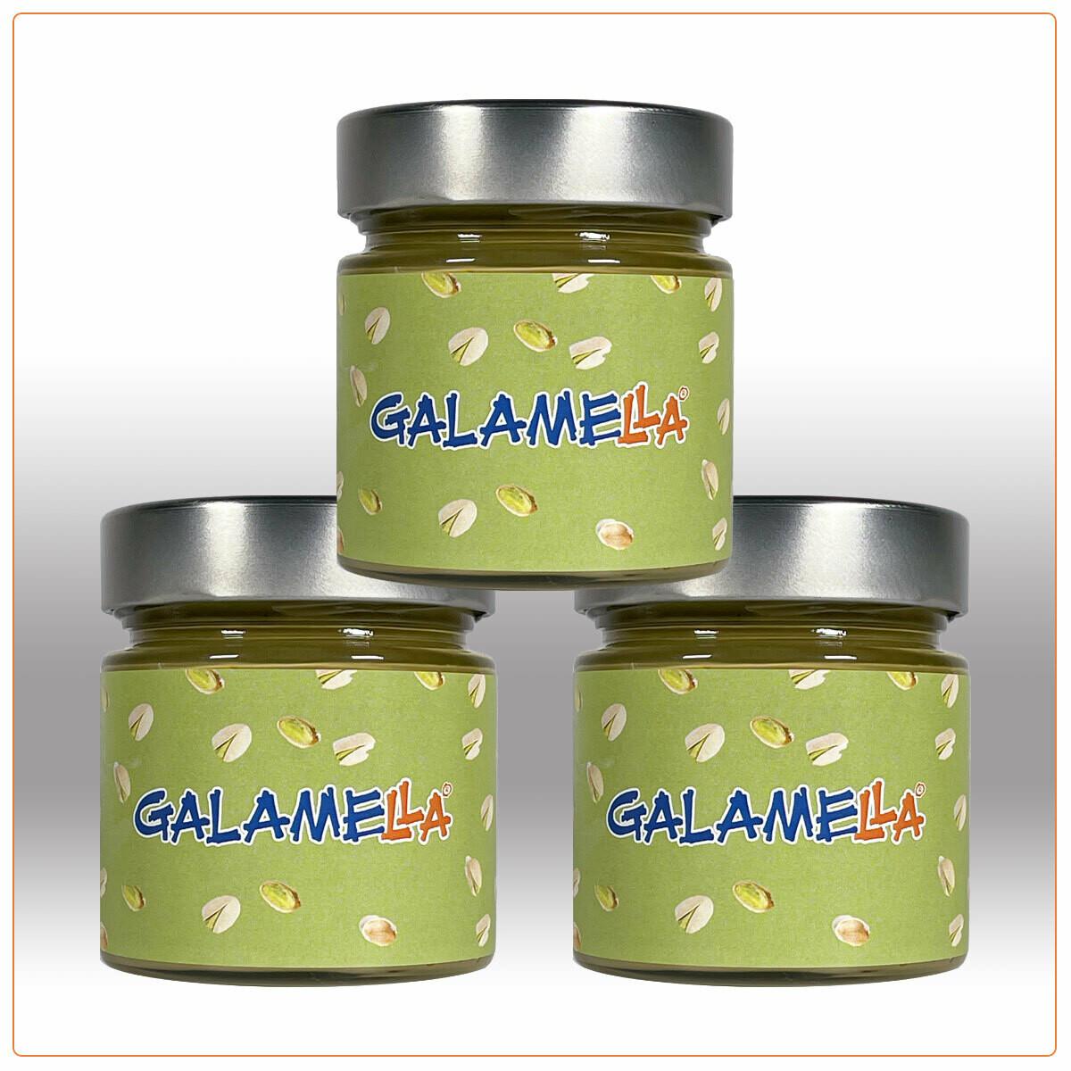 3 Creme spalmabili con olio extra vergine d'oliva, Pistacchio 230g