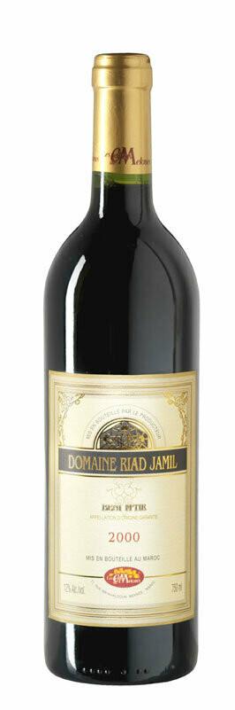 Riad Jamil Rouge (vieilli en Fûts de chêne AOG) 37,5cl