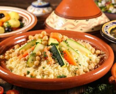 Couscous aux Légumes sans viande
