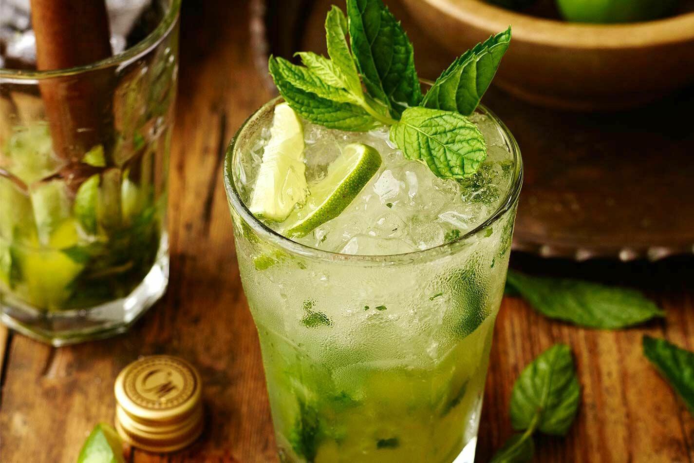 Cocktail de jus de citron à menthe 50 cl