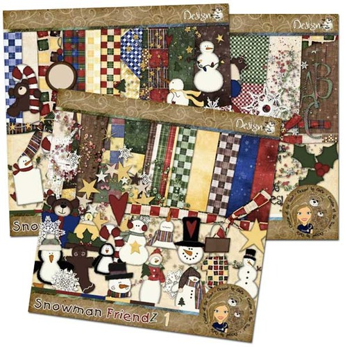 Snowman FriendZ: Bundle